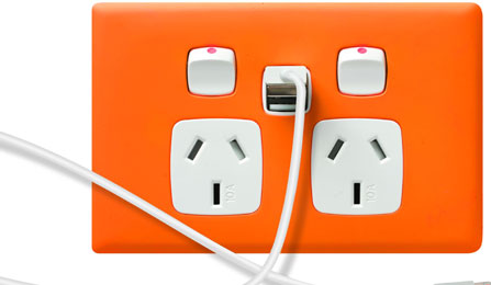 usb power points - electrician northern beaches - Edelman Electrics