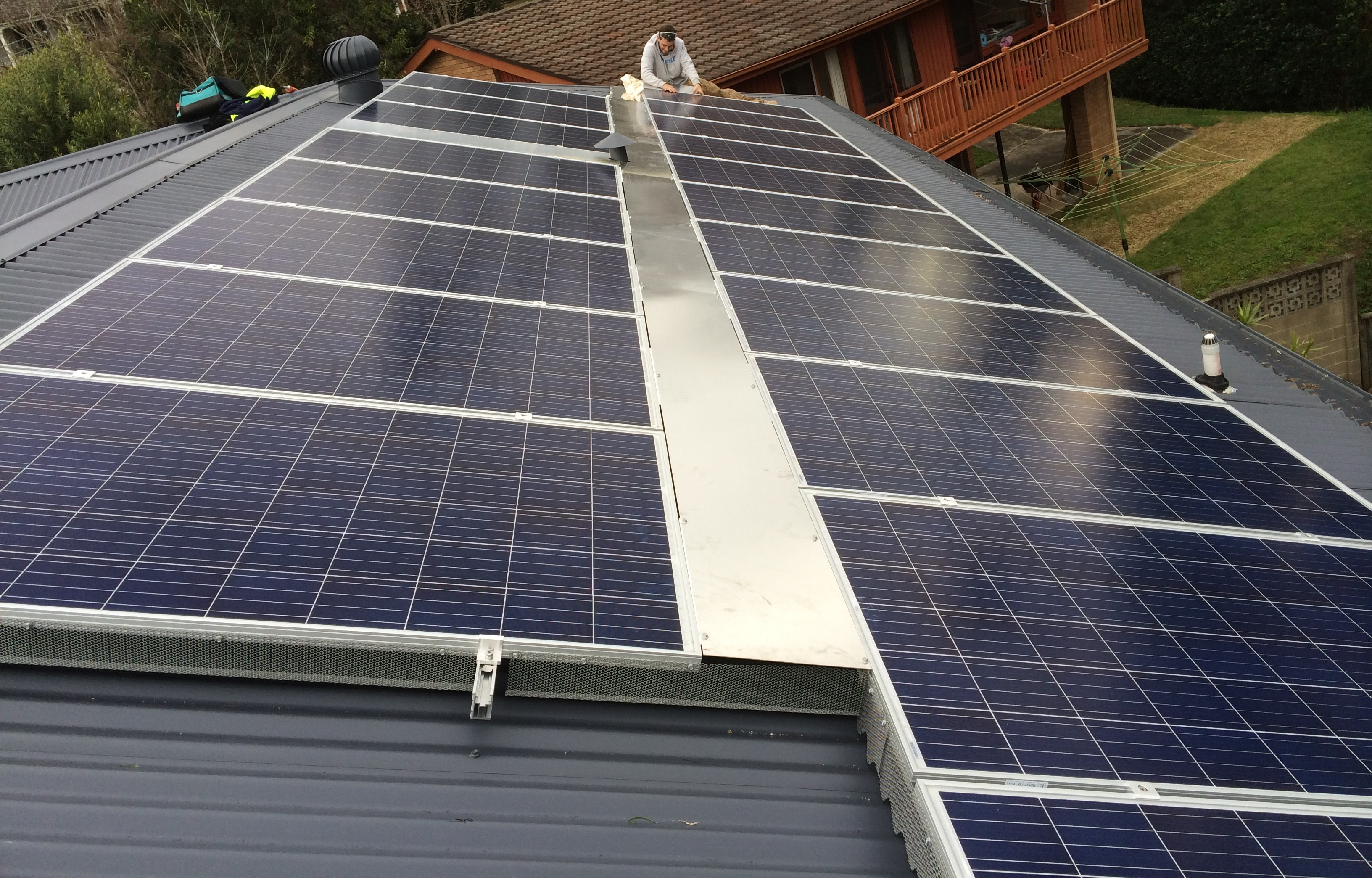 solar panels - northern beaches